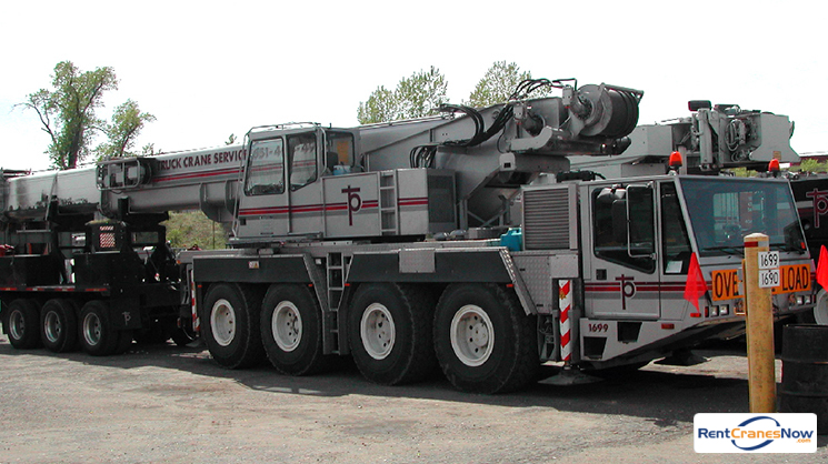 90-TON DEMAG AC 80-1 Crane for Rent in Eagan Minnesota on CraneNetworkcom