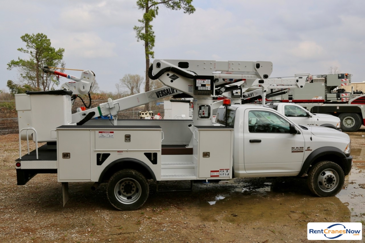 2018 Versalift VST-40-I mounted to 2018 Ram 5500 chassis Crane for Rent in Houston Texas on CraneNetwork.com