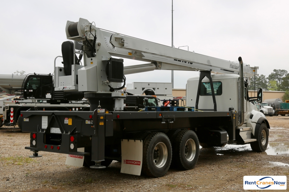 2019 Manitex 22101S mounted to Kenworth T880 chassis Crane for Rent in Houston Texas on CraneNetwork.com