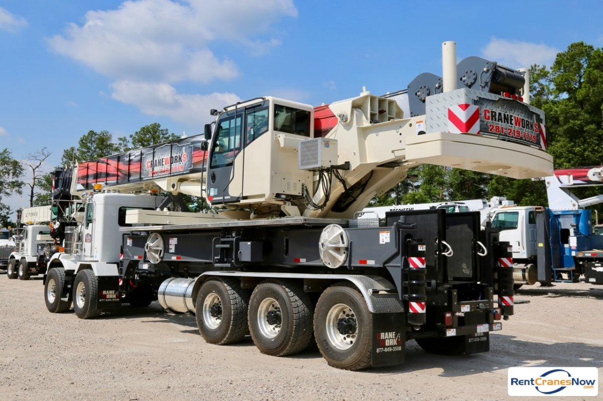 Terex Crossover 8000 mounted to Kenworth T800 chassis Crane for Rent in Houston Texas on CraneNetwork.com