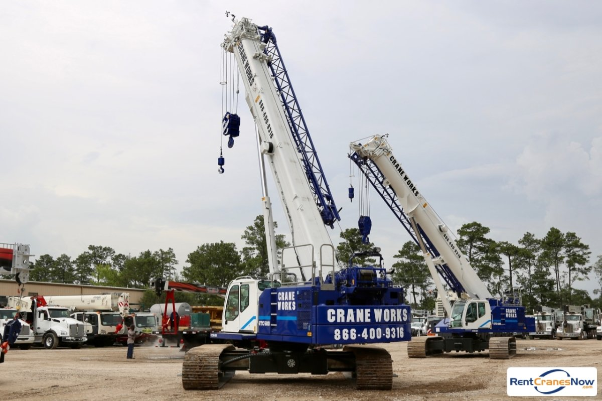 2019 Tadano Mantis GTC-500 Crane for Rent in Houston Texas on CraneNetwork.com