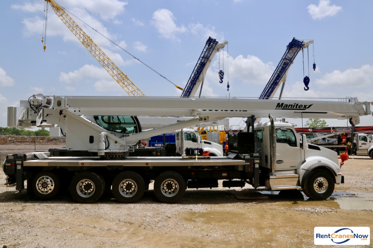 2019 Manitex TC50155HL mounted to Kenworth T880 chassis Crane for Rent in Houston Texas on CraneNetwork.com