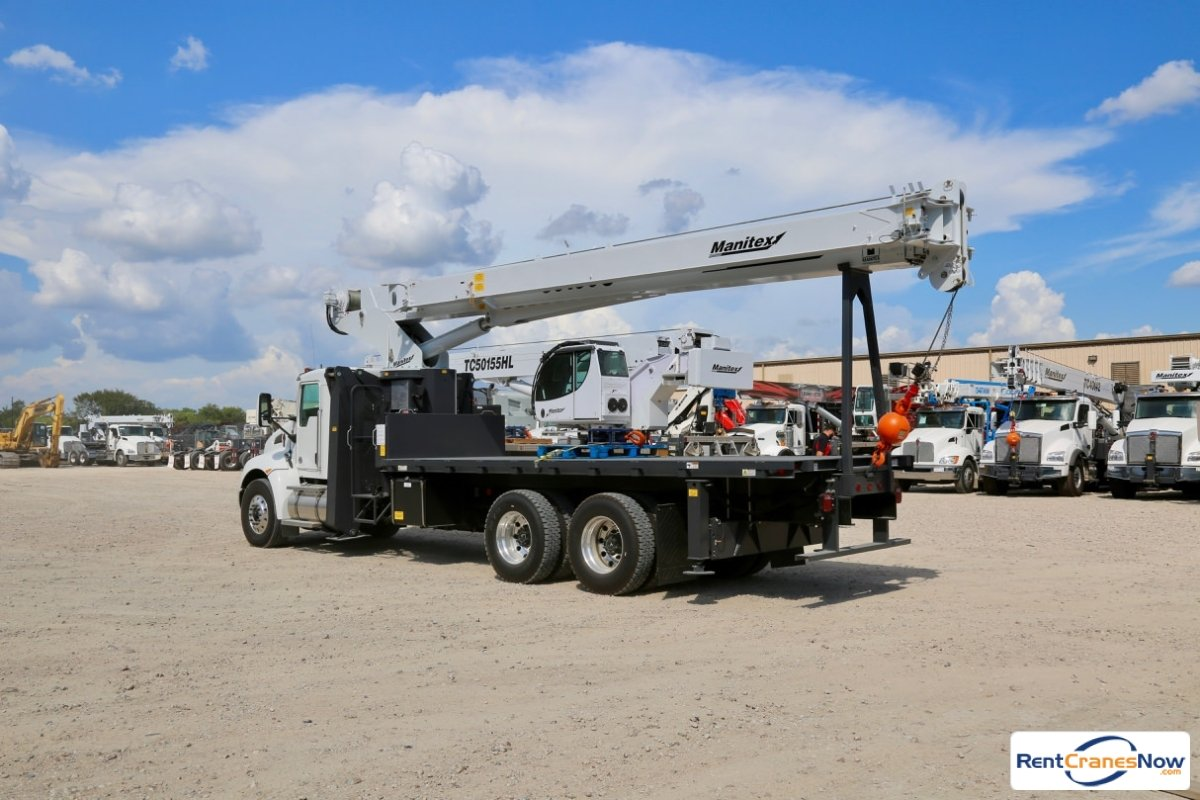 2019 Manitex 30100C boom truck mounted to Kenworth T370 chassis Crane for Rent in Houston Texas on CraneNetwork.com