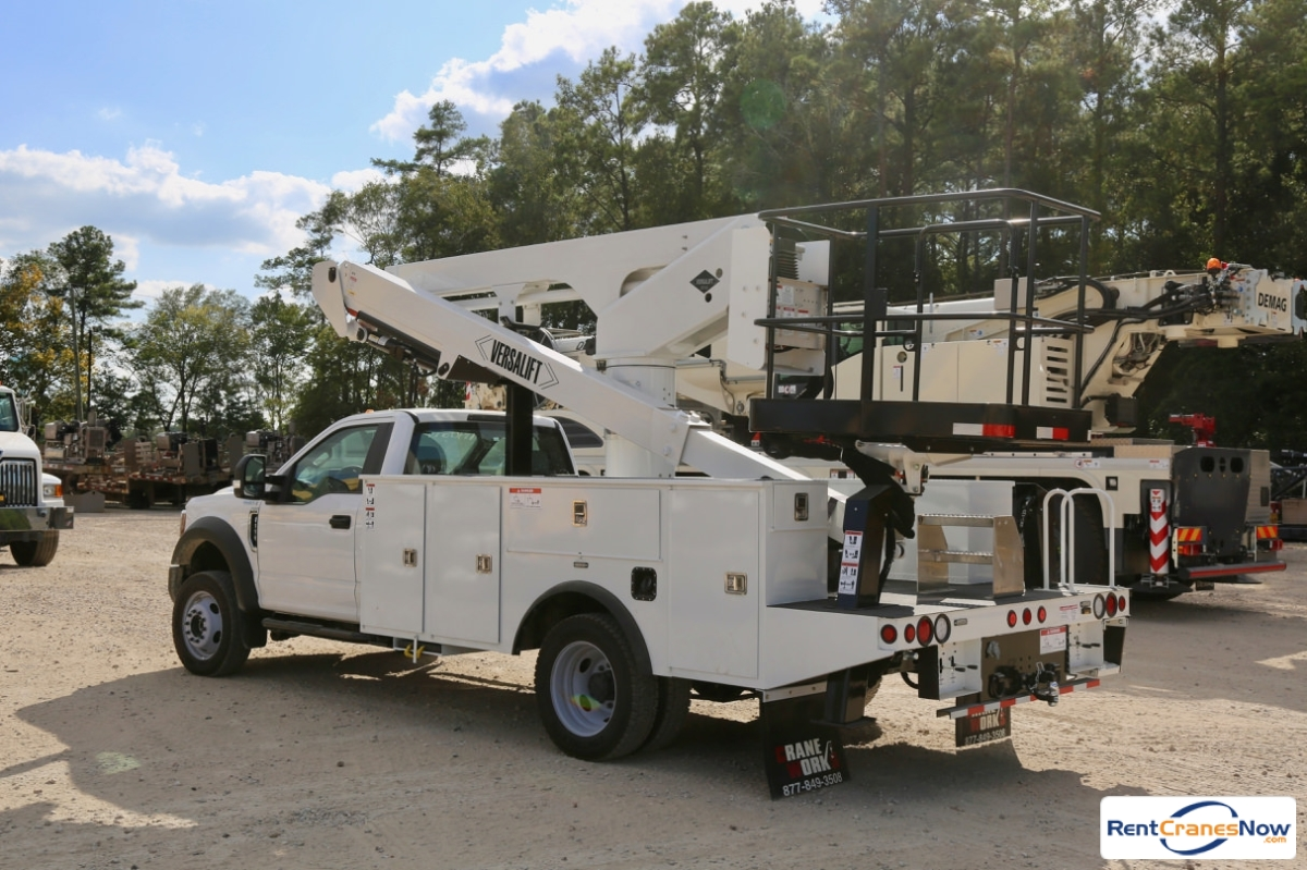 2019 Versalift VST-50-TN bucket truck mounted to Ford F-550 Crane for Rent in Houston Texas on CraneNetwork.com