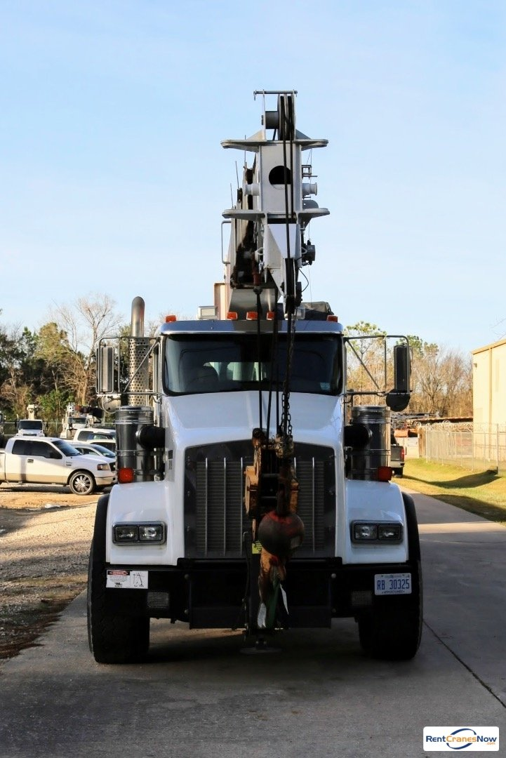 Manitex 5096S mounted to 2015 Kenworth T800 chassis Crane for Rent in Midland Texas on CraneNetworkcom
