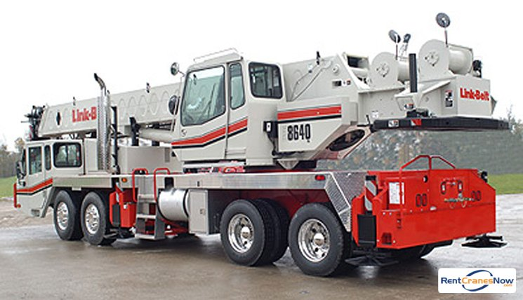 40-Ton Link-Belt HTC-8640SL Crane for Rent in East Hartford Connecticut on CraneNetworkcom