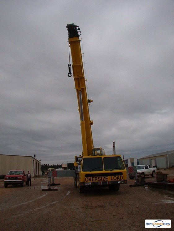 Krupp 100 GMT Crane for Rent in Cherryville North Carolina on CraneNetwork.com