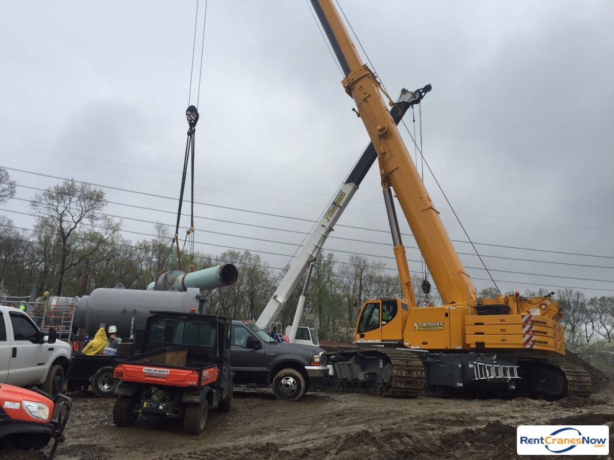 2015 Liebherr LTR 1220 Crane for Rent in New York New York on CraneNetwork.com