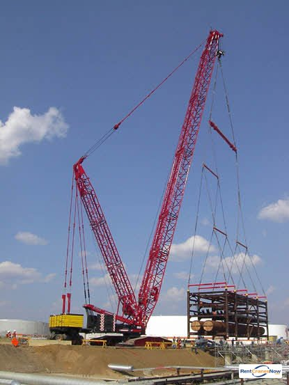 Liebherr LR 1400-2 Crane for Rent in Baton Rouge Louisiana on CraneNetwork.com