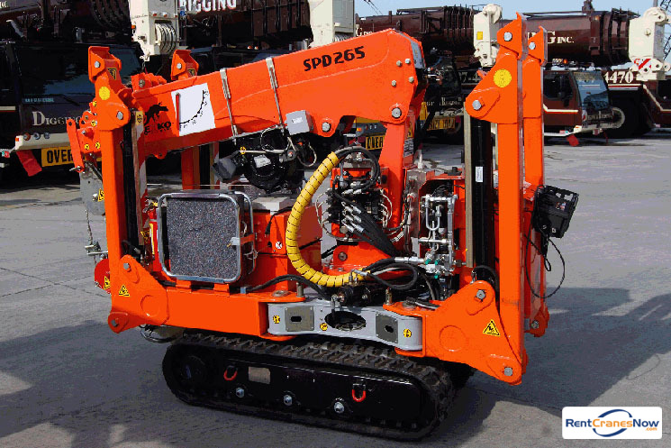 2646 lb JEKKO SPD265 Crane for Rent in Clarksburg Maryland on CraneNetworkcom