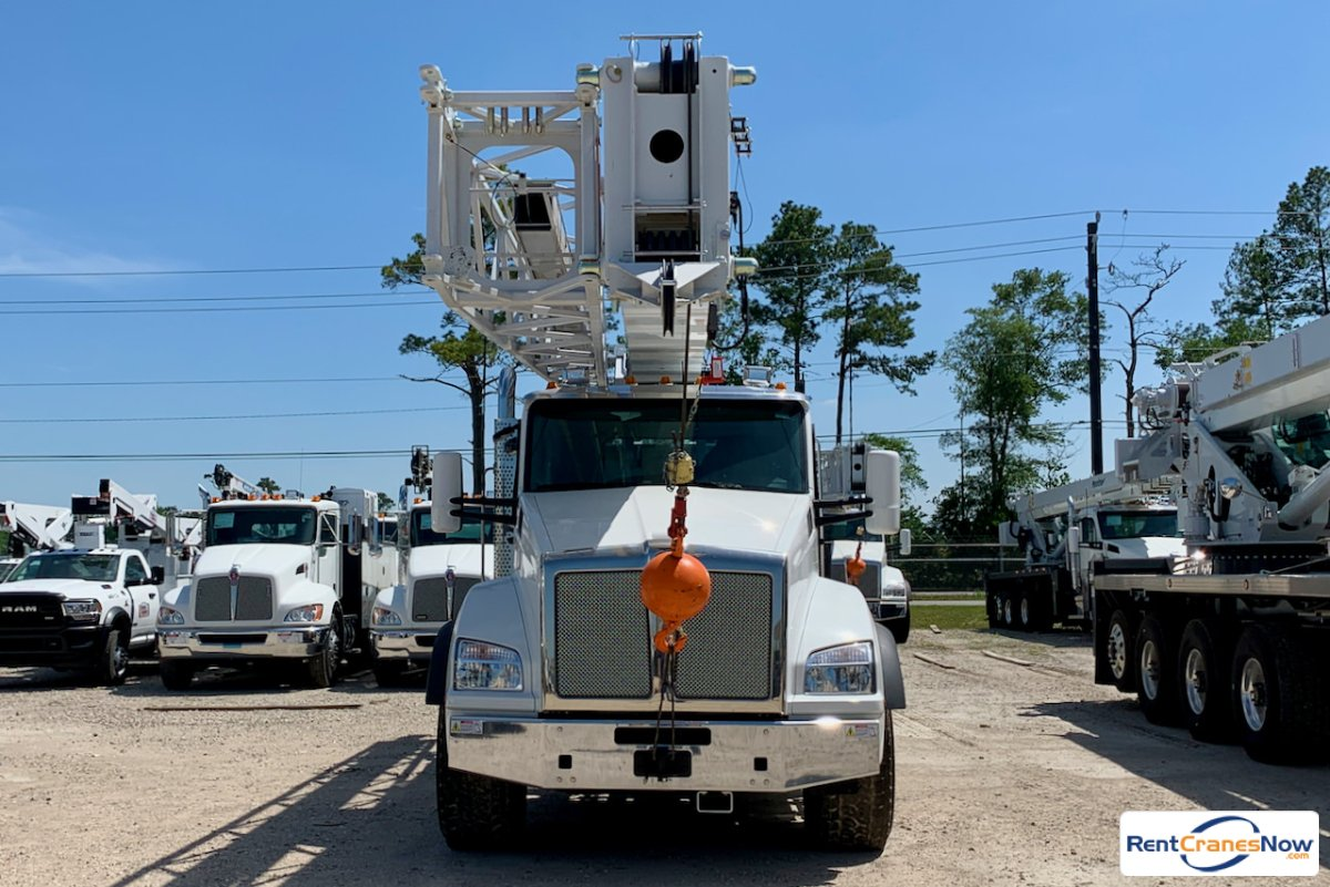 Manitex TC60131 boom truck on 2020 Kenworth T880 chassis Crane for Rent in Houston Texas on CraneNetwork.com