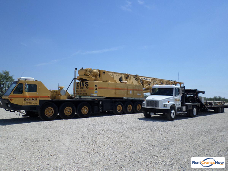 115-Ton Grove TMS1150 Crane for Rent in Abilene Texas on CraneNetworkcom