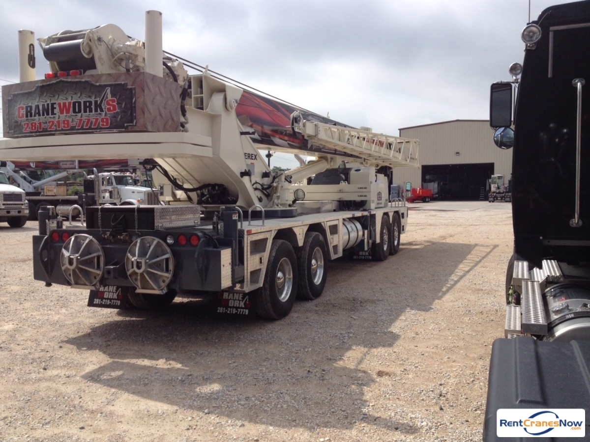 2014 Terex T780 hydraulic truck crane Crane for Rent in Houston Texas on CraneNetworkcom