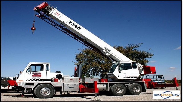 Terex T340 Crane for Rent in Muscatine Iowa on CraneNetwork.com