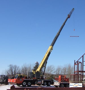 70-TON LINK-BELT HTC-8670 Crane for Rent in Elkview West Virginia on CraneNetwork.com