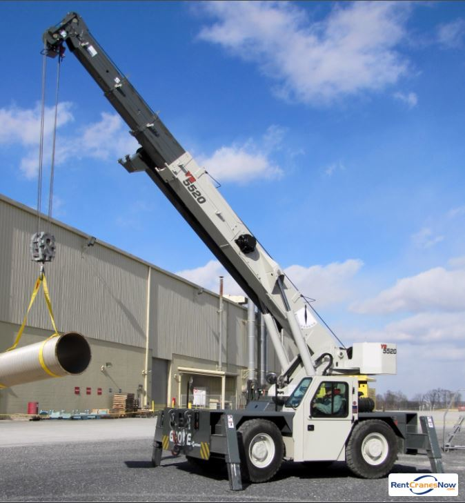 GROVE YB5520 Crane for Rent in Superior Wisconsin on CraneNetwork.com