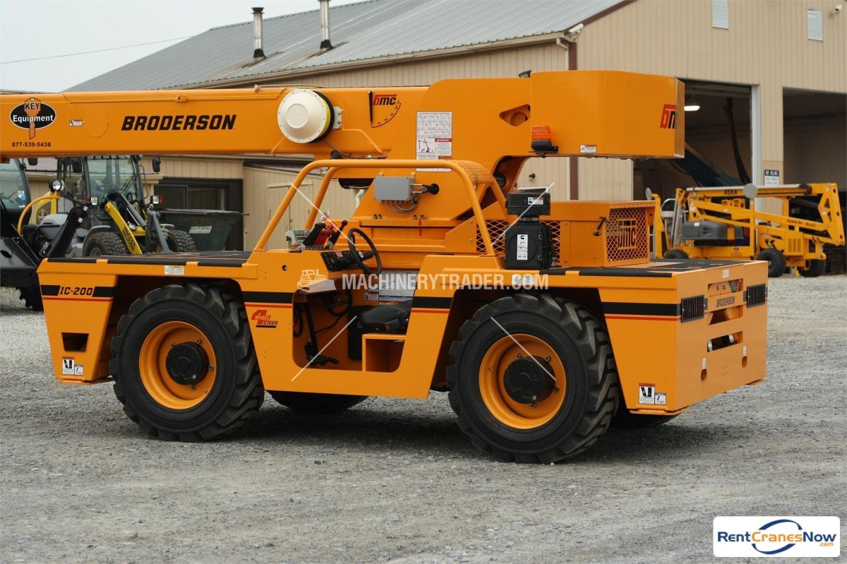 NEW 15-Ton Broderson IC-200-3H Crane for Rent in Honey Brook Pennsylvania on CraneNetwork.com