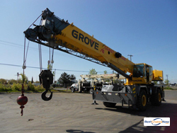 2011 GROVE RT650E CRANE Crane for Rent in Houston Texas on CraneNetwork.com