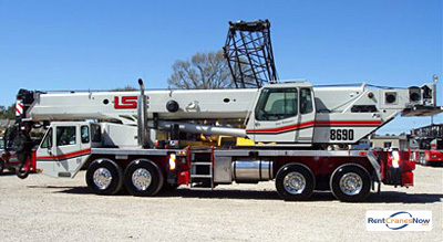 90-Ton Link-Belt HTC-8690 Crane for Rent in Riviera Beach Florida on CraneNetworkcom