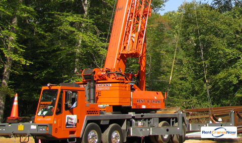 Grove TMS900 90-ton Capacity 141 main boom w 88 jibs Crane for Rent in Lorton Virginia on CraneNetworkcom