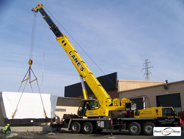 60-Ton Link-Belt HTC-8660 Crane for Rent in Moosic Pennsylvania on CraneNetwork.com