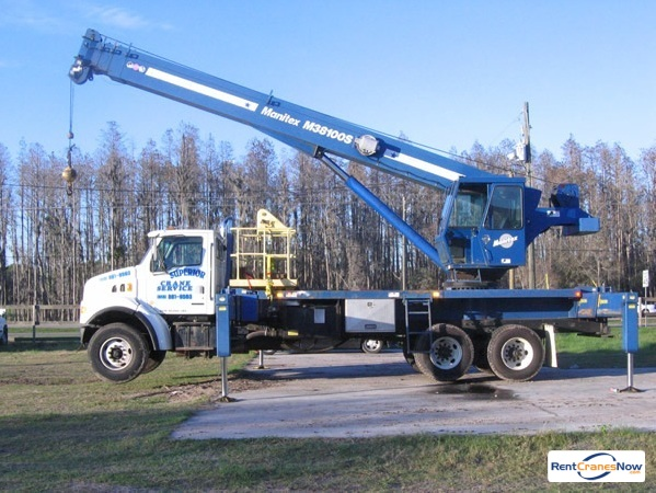 Manitex M38100S Crane for Rent in Tampa Florida on CraneNetwork.com
