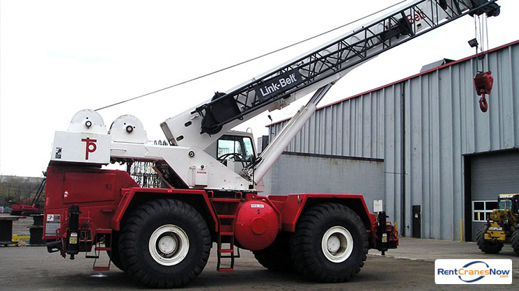 50-Ton Link-Belt RTC-8050 Crane for Rent in Eagan Minnesota on CraneNetwork.com