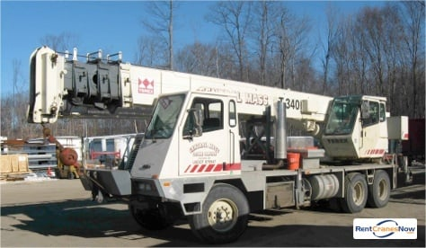 40-Ton Terex T340 Crane for Rent in Leicester Massachusetts on CraneNetworkcom