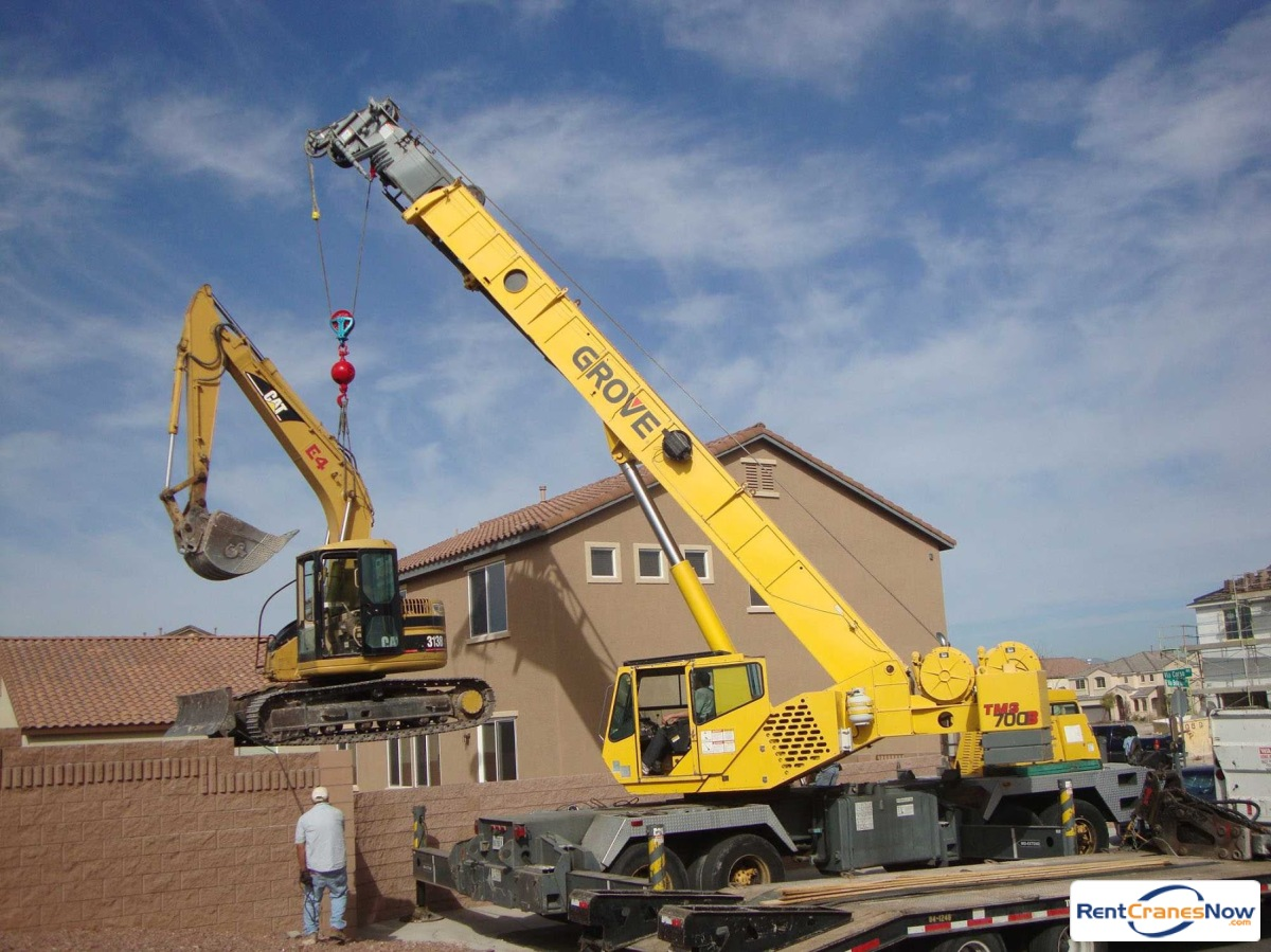 Grove TMS700E Crane for Rent in Las Vegas Nevada on CraneNetwork.com