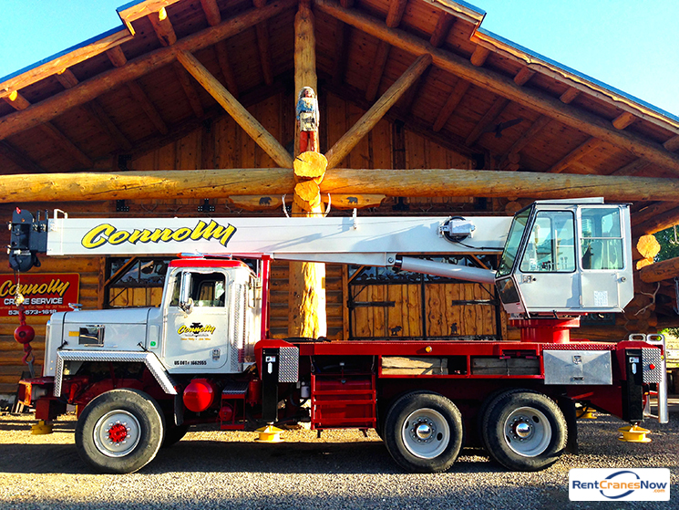 28-Ton Manitex M2892S Crane for Rent in Gardnerville Nevada on CraneNetwork.com