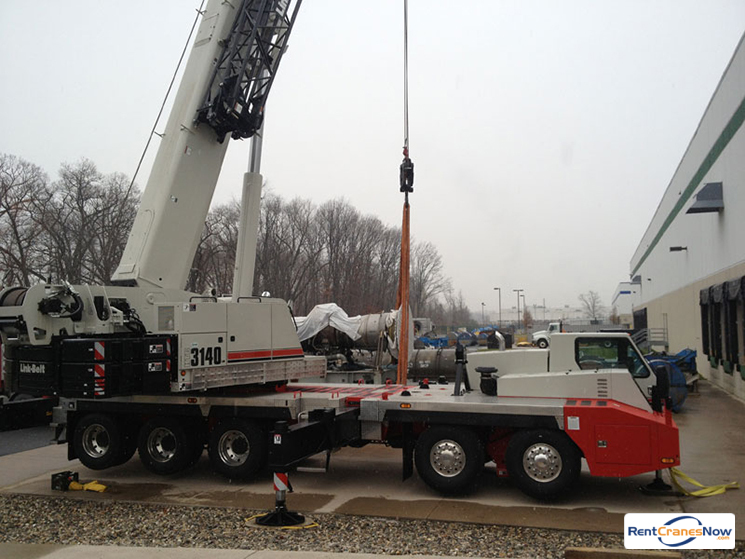 140-Ton Link-Belt HTC-3140 Crane for Rent in East Hartford Connecticut on CraneNetwork.com