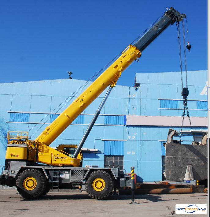 GROVE RT9150 Crane for Rent in Superior Wisconsin on CraneNetwork.com