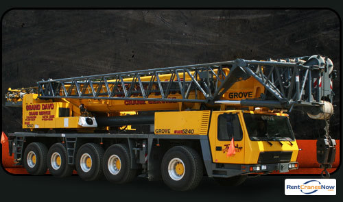240-Ton Grove GMK5240 Crane for Rent in Kalamazoo Michigan on CraneNetwork.com