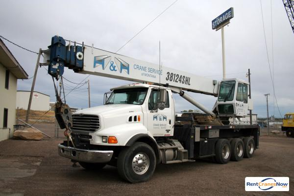 38-TON MANITEX 38124HL Crane for Rent in Great Falls Montana on CraneNetwork.com