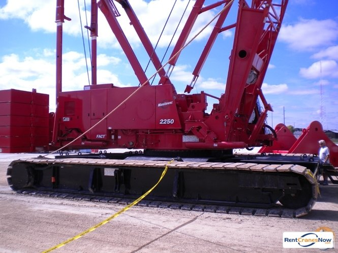 Manitowoc 2250 Crane for Rent in Phoenix Arizona on CraneNetwork.com