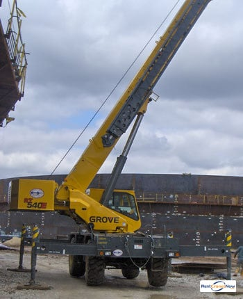 Grove RT540 Crane for Rent in Urbana Illinois on CraneNetworkcom