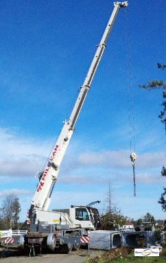 45-Ton Demag AC 40 City Crane for Rent in Poulsbo Washington on CraneNetwork.com