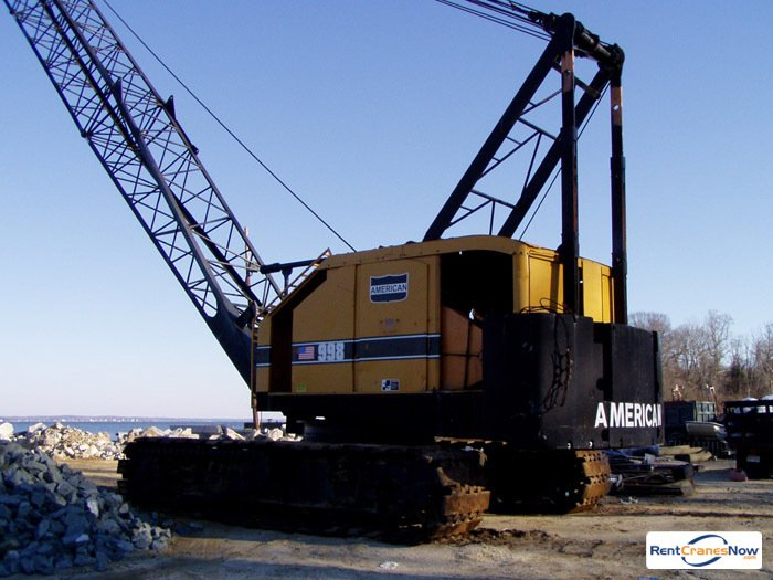 American 998C Crane for Rent in Portsmouth Virginia on CraneNetworkcom