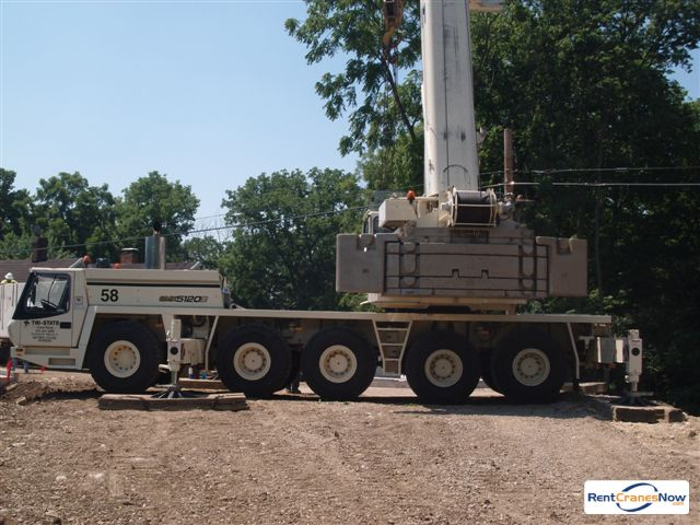 Grove GMK5120B Crane for Rent in Cincinnati Ohio on CraneNetwork.com
