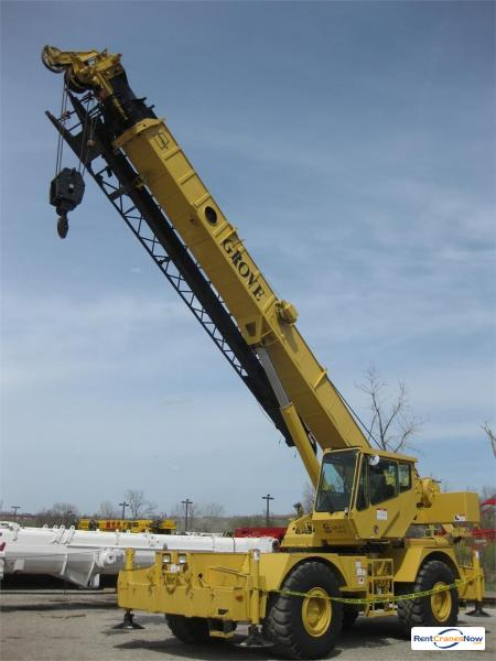 40-TON GROVE RT640C Crane for Rent in Great Falls Montana on CraneNetworkcom