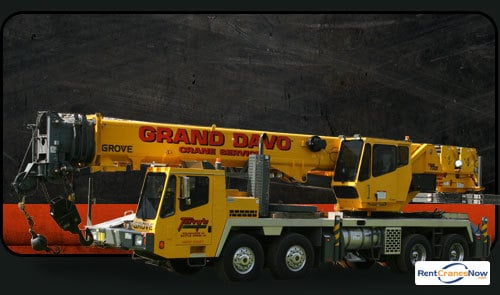 50-Ton Grove TMS750E Crane for Rent in Kalamazoo Michigan on CraneNetwork.com