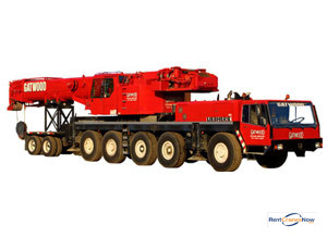 Liebherr 1120 Crane for Rent in Arlington Heights Illinois on CraneNetwork.com