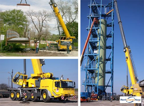 Grove GMK5165-2 Crane for Rent in Dallas Texas on CraneNetwork.com