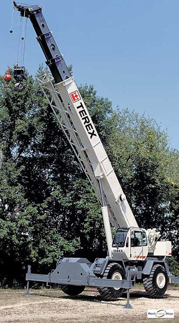 55-Ton Terex RT555 Crane for Rent in Lafayette Louisiana on CraneNetwork.com