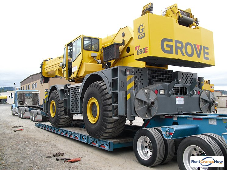 90-TON GROVE RT890E Crane for Rent in Monroe Washington on CraneNetworkcom
