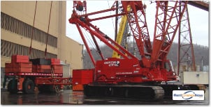 500-TON MANITOWOC 2250 SERIES 3 WITH MAX-ER Crane for Rent in Columbus Ohio on CraneNetwork.com