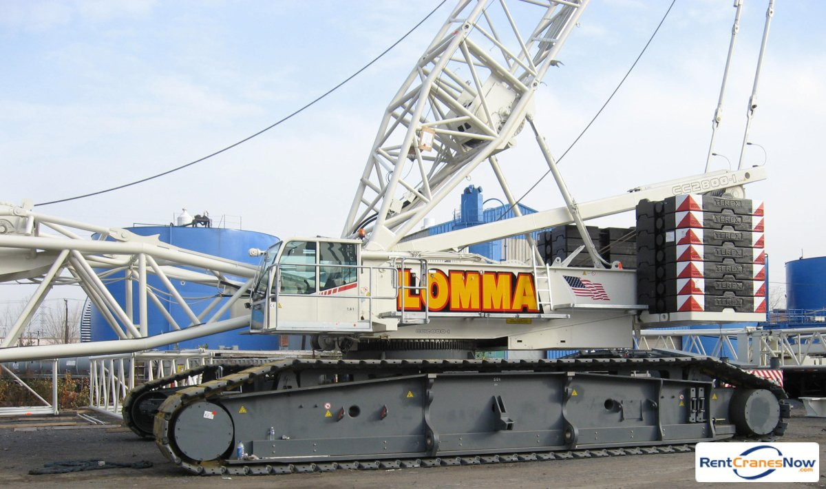 Demag CC 2800 NT Crane for Rent in Newark New Jersey on CraneNetwork.com
