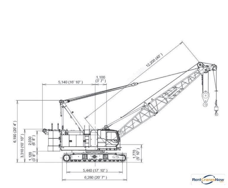 Manitowoc 11000-1 Crane for Rent in Superior Wisconsin on CraneNetwork.com