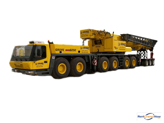 250-TON GROVE GMK6250-L Crane for Rent in Hodgkins Illinois on CraneNetwork.com