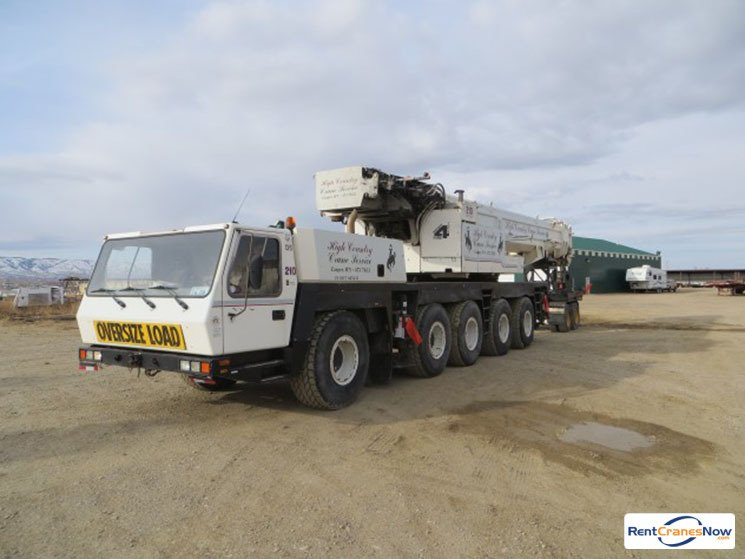 210-TON GROVE GMK5210 Crane for Rent in Bar Nunn Wyoming on CraneNetworkcom